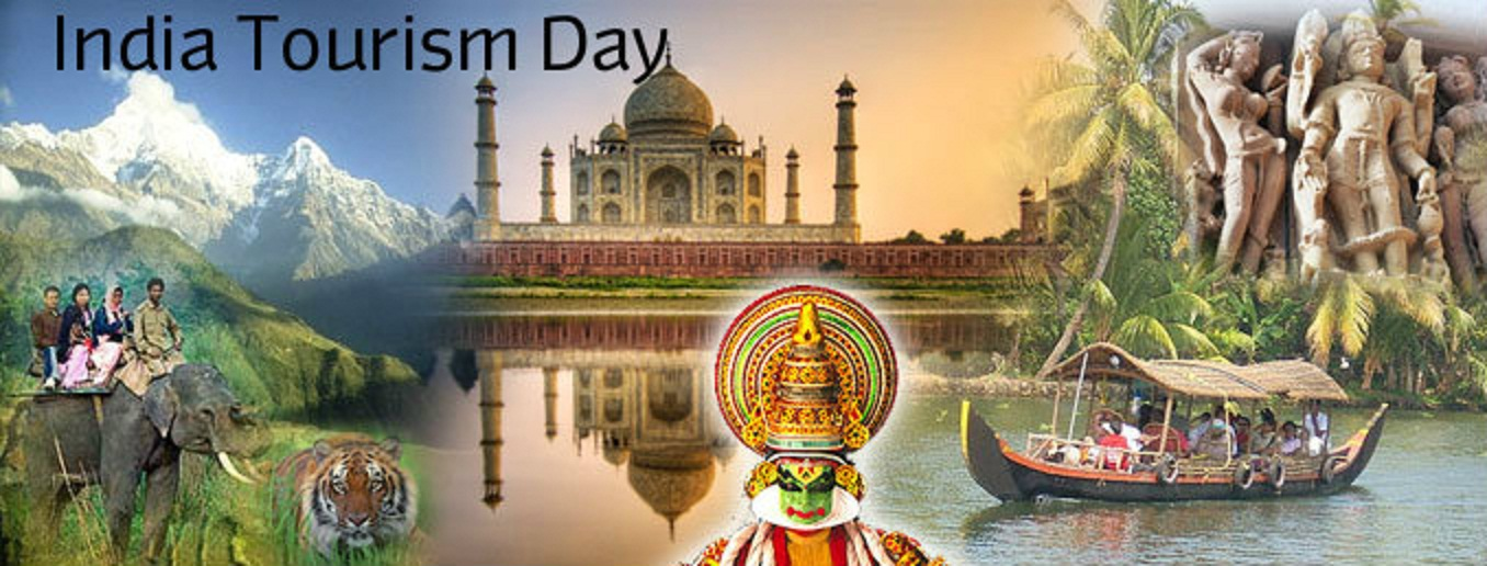 India Tourism Day  IMAGES, GIF, ANIMATED GIF, WALLPAPER, STICKER FOR WHATSAPP & FACEBOOK