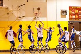 Unicycle Basketball